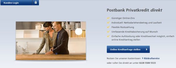 postbank kredit erfahrungen test erfahrungsbericht 10. Black Bedroom Furniture Sets. Home Design Ideas