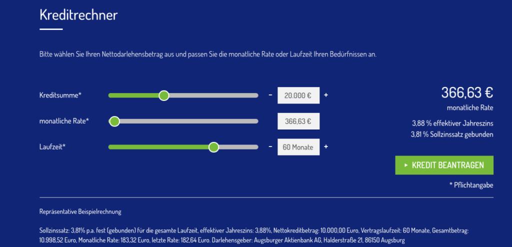 Ratenkredite bei der Netbank mit Onlinetarifrechner bestimmen