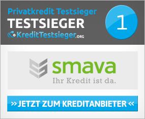 smava Online Kreditrechner von Kredittestsieger.org