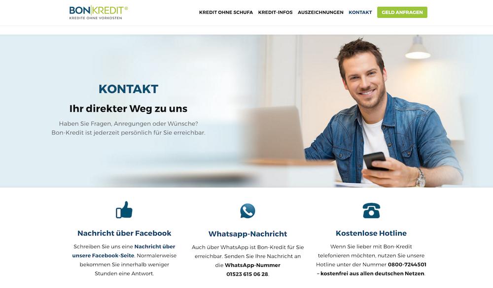 Bon-Kredit Kundenservice