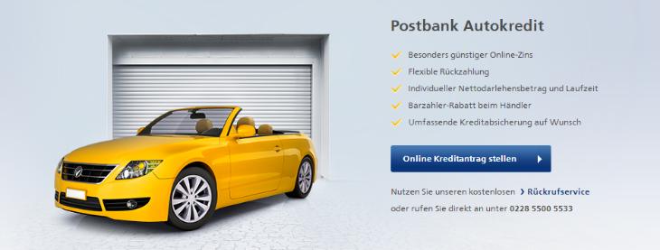 postbank autokredit erfahrungen