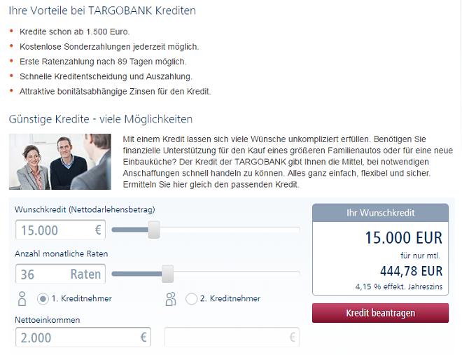 targobank kreditkonditionen