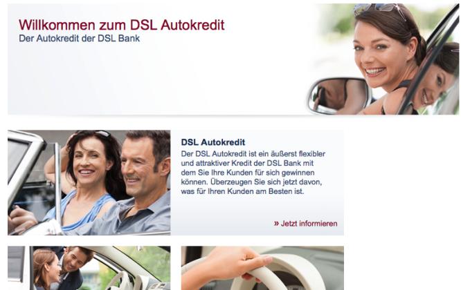 Der Autokredit der DSL Bank gestaltet sich sehr flexibel