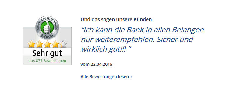 Bank of Scotland in der Presse