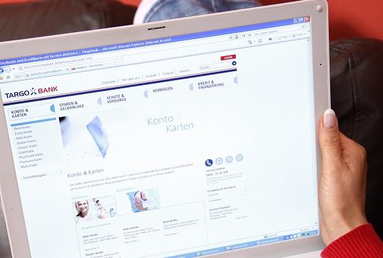 Targobank Onlinebanking Screenshot