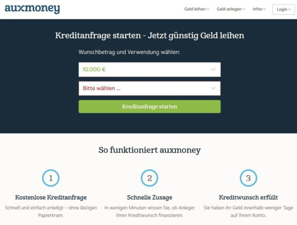 auxmoney: Eine echte Alternative