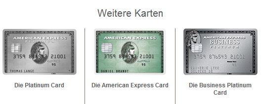Das Angebot von American Express