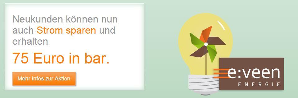 Kooperation e:veen und kautionsfrei.de
