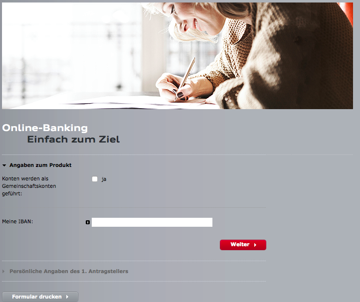 Online Banking der Audi Bank