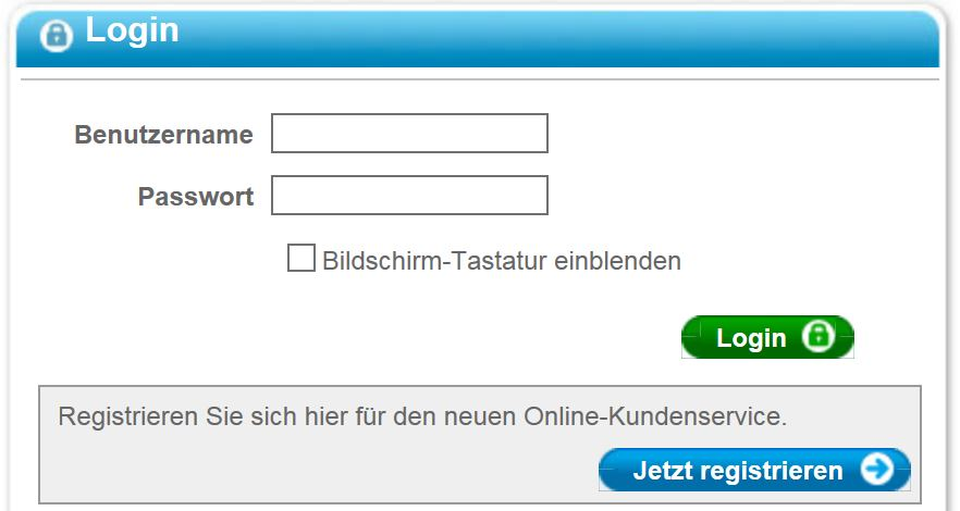 Barclaycard Log In Bereich