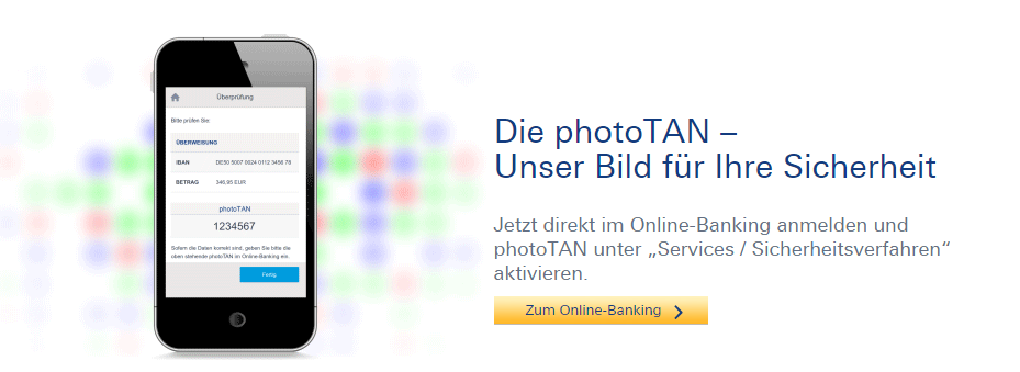 PhotoTAN Deutsche Bank