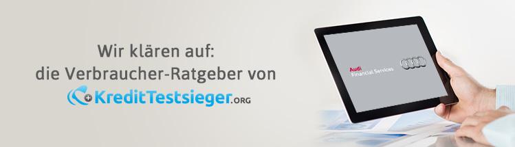 Audi-Bank Direct Erfahrungen auf kredittestsieger.org