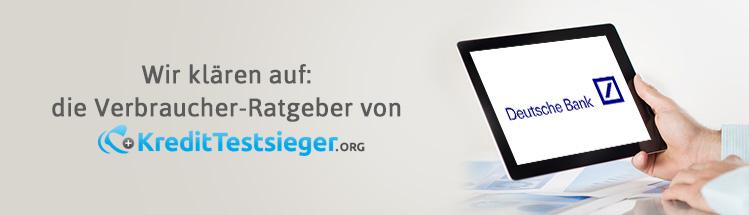 Deutsche-Bank Immobilien Erfahrungen auf kredittestsieger.org