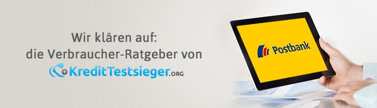 Postbank Tagesgeld Erfahrungen auf kredittestsieger.org