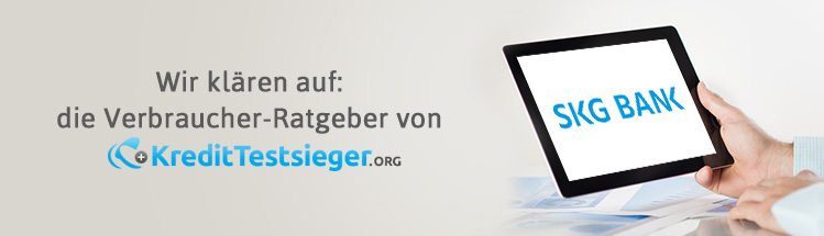 SKG Bank Gebühren Erfahrungen auf kredittestsieger.org
