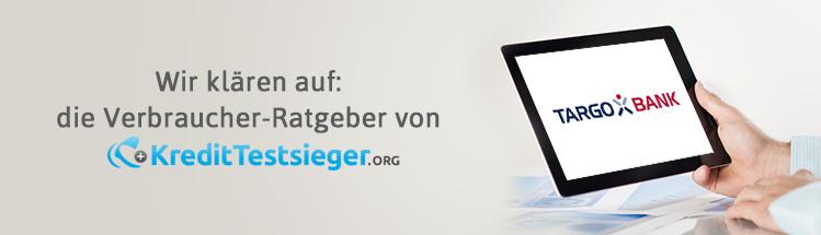 Targobank Kreditkarten Erfahrungen auf kredittestsieger.org