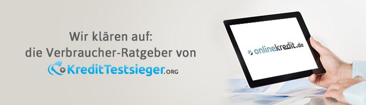 Onlinekredit.de Autokredit Erfahrungen auf kredittestsieger.org