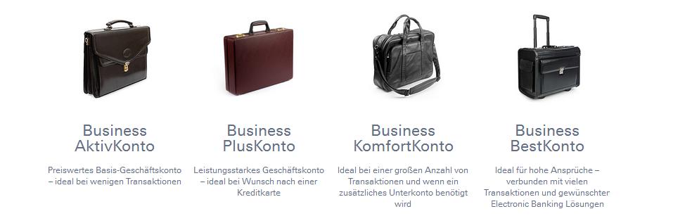 Deutsche Bank Konten für Geschäftskunden