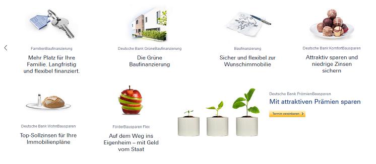 Die Immobilienfinanzierungen der Deutschen Bank