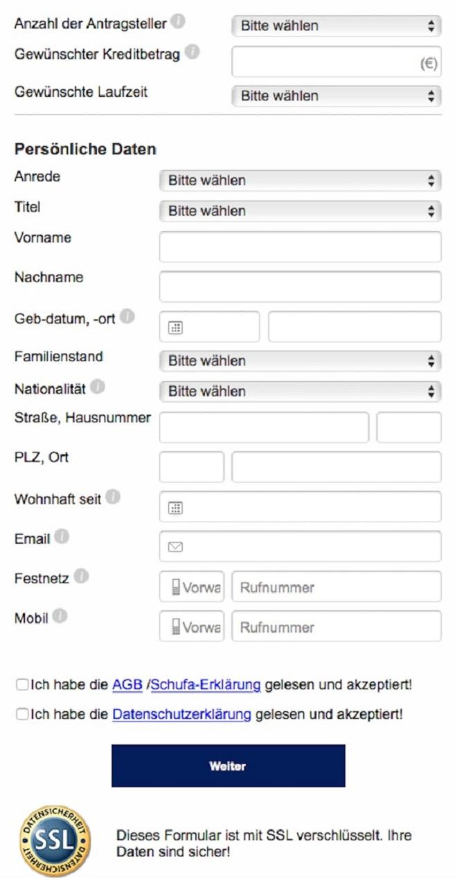 Wunderbar Kreditantragsformular Bilder - FORTSETZUNG ARBEITSBLATT ...