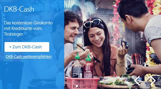 Ein kostenloses GIrokonto und dazu eine Kreditkarte gibt es beim Testsieger DKB