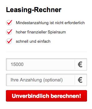Leasingrechner Santander