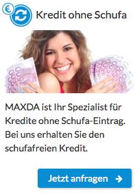 Maxda Kredit Schufa