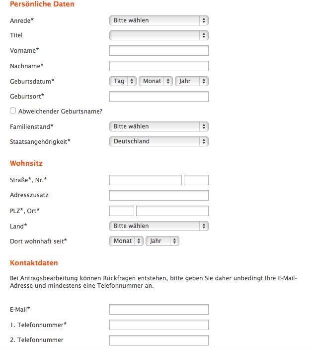 Online Antrag Kontoeröffnung Netbank