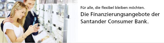 Finanzierungsangebote Santander