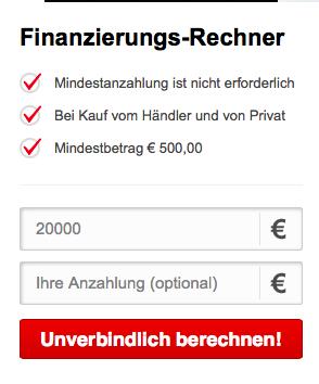Finanzierungs-Rechner