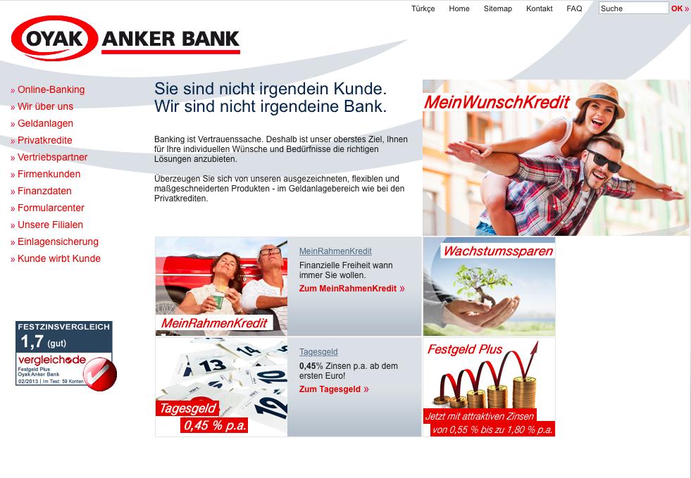 Oyak Anker Bank Umschuldung