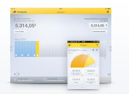 Postbank App für mehr Flexibilität