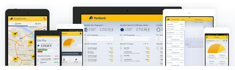 Das Mobile Banking mit der Postbank App