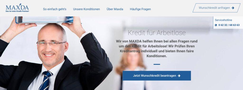 Maxda Kredit Arbeitslose