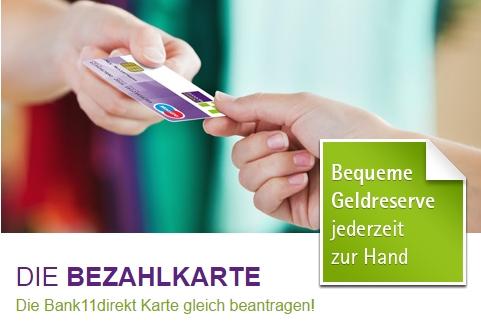 Bank11direkt Kreditkarte