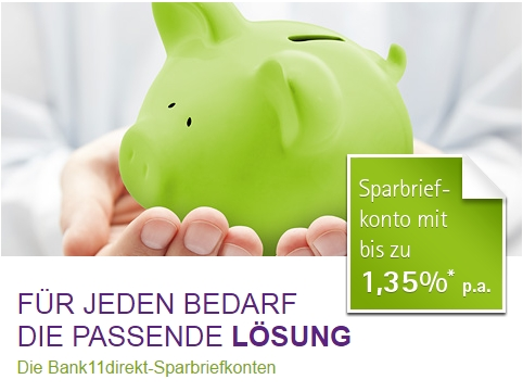 Bank11direkt Festgeld