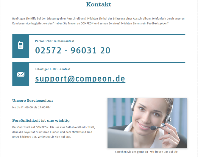 Compeon Kundensupport