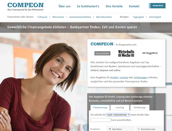 Compeon Webseite
