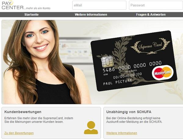 SupremaCard von PayCenter