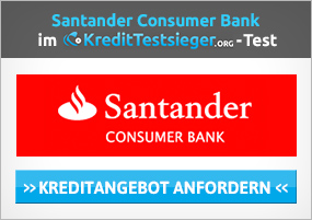Santander Sofortkredit