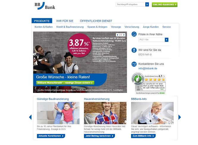 BBBank Baufinanzierung Erfahrungen