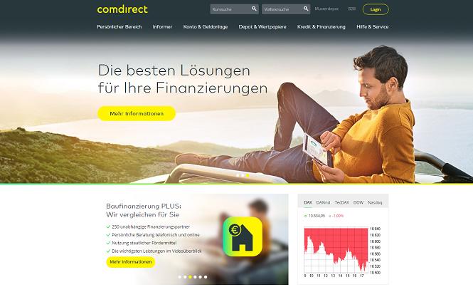 comdirect Baufinanzierung Erfahrungen