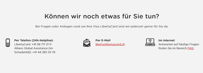 Visa LibertyCard Erfahrungen