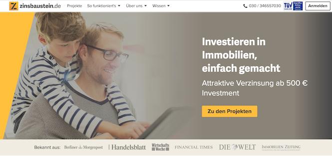 Zinsbaustein.de Erfahrungen von Kredittestsieger.org