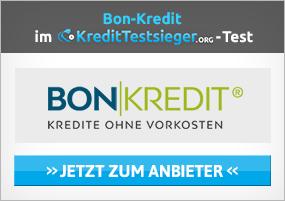 Bon Kredit abgelehnt - was tun?