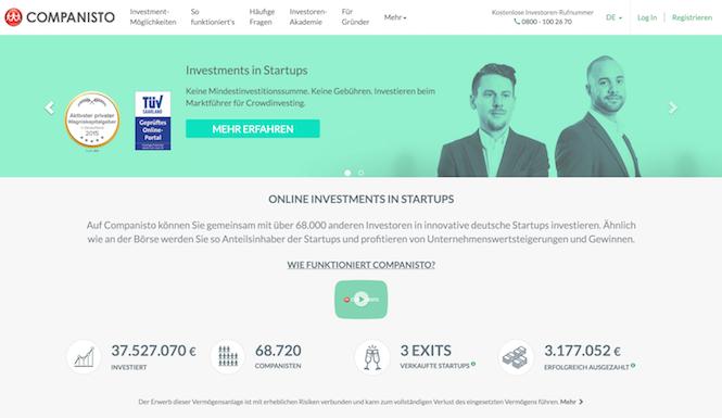 Companisto Erfahrungen von Kredittestsieger.org