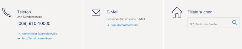 Deutschen Bank Kundenservice