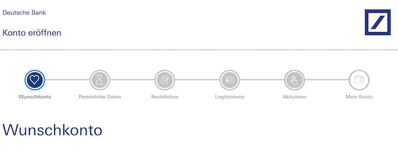 Deutsche Bank Girokonto eröffnen