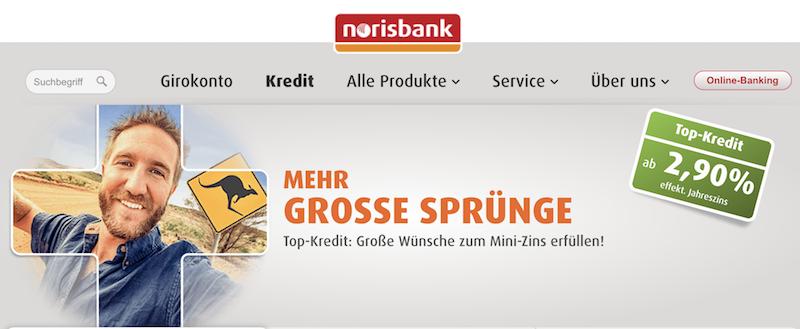 norisbank Ratenkredite