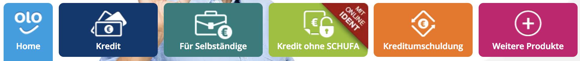 Creditolo Produkte